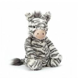Zebra - Mellem Bashful bamse - Jellycat