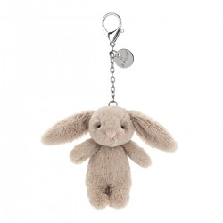 Beige Bashful kanin - Vedhæng til taske - Jellycat