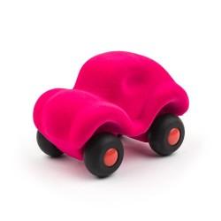 Pink bil - Lille - Rubbabu