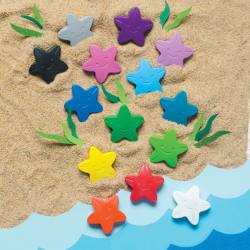 Stars of the Sea - 16 farver til mindre børn - Ooly