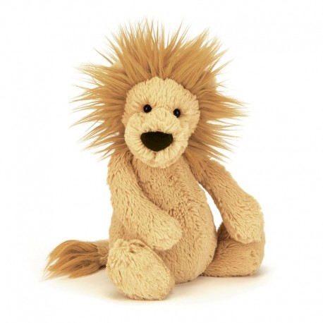 Jellycat bashful bamse løve medium