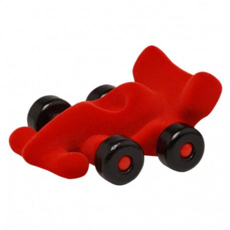 Rød racerbil - Medium - Rubbabu