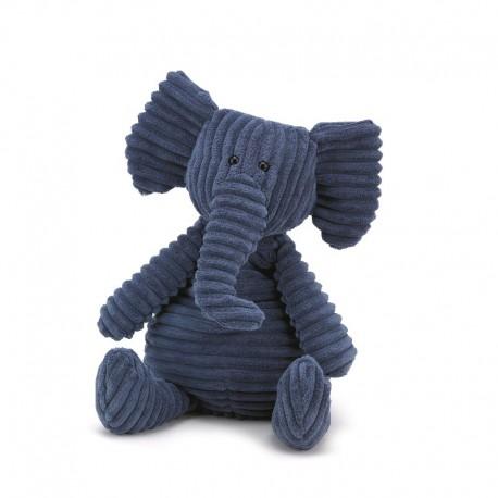 Jellycat Cordy Roy bamse - Elefant - Mellem