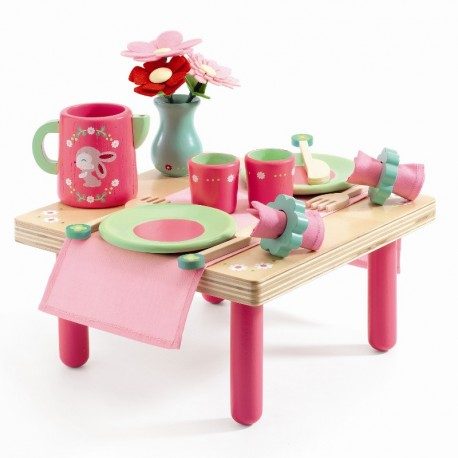 Djeco legemad - Lili Rose frokostbord