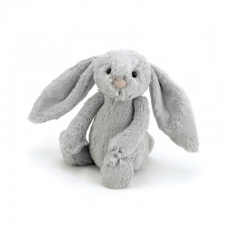 Jellycat Bashful bamse - Sølv kanin - Lille
