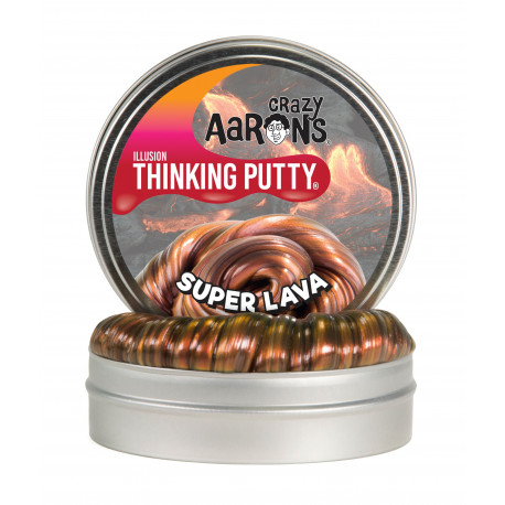 SUPER LAVA - Stor Illusion Thinking Putty - Crazy Aarons