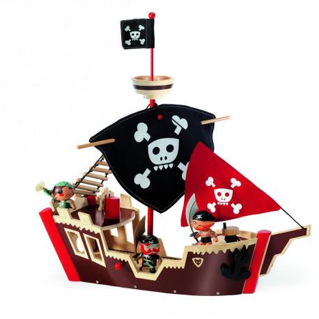Stort piratskib - Arty Toys - Djeco