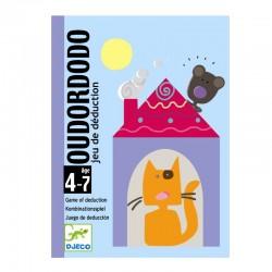 Oudordodo (Hvor sover bjørnen?) - Djeco kortspil