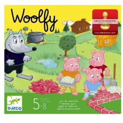Djeco spil - Woolfy - Vinder af Guldbrikken 2010 - 5-8 år