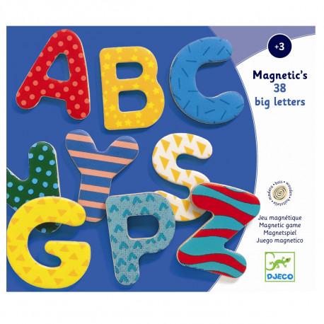 Store bogstaver - Djeco magneter