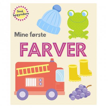 Mine første farver - Papbog - Karrusel Forlag