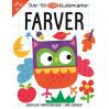 Farver - Aktivitetsbog med 150 klistermærker - Karrusel Forlag