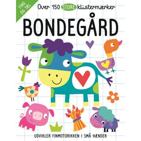 Bondegård - Aktivitetsbog med 150 klistermærker - Karrusel Forlag