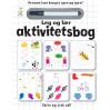 Leg & lær aktivitetsbog med tusch - Skriv & visk ud - Karrusel Forlag