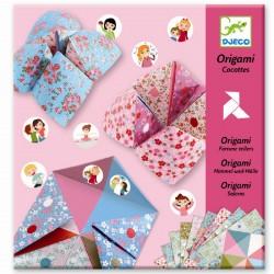Spåkonen origami - Flip flapper spil - Djeco