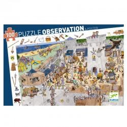 Borgen - Observationspuslespil (100 brikker) - Djeco