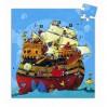 Barbarossas sørøverskib - Silhuetpuslespil - Djeco