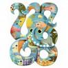 Djeco puslespil - Blæksprutte - 350 brikker