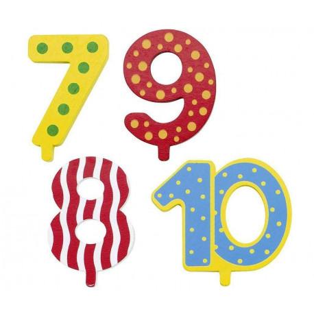 Ekstra tal til fødselsdagstog