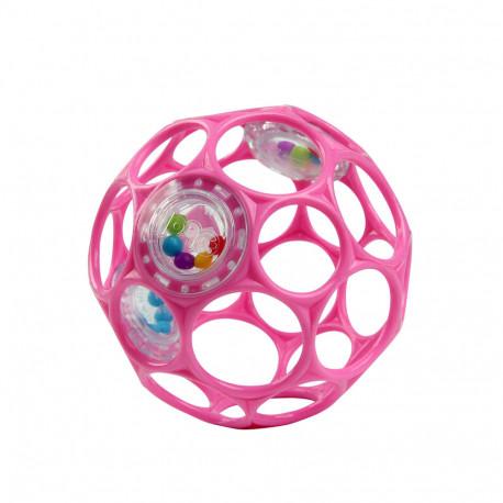 Oball bold med rangle - Pink
