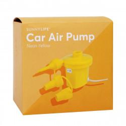 Gul luftpumpe til bil - SUNNYLIFE