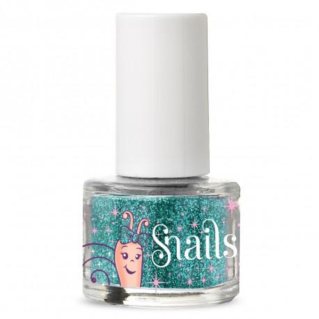 Sølv glimmer til negle - Snails