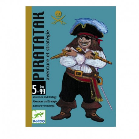 Piratatak (Strategispil) - Kortspil - Djeco