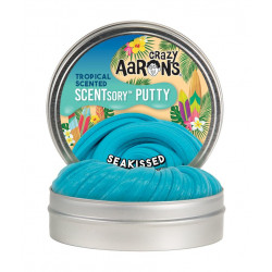 SEAKISSED - Mellem Beach Scented Thinking Putty blødt slim - Crazy Aarons