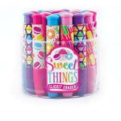 Sweet Things klik-frem viskelæder - Ass. farver - Ooly