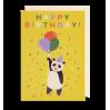 Happy Birthday Panda - Kort & kuvert - Lagom