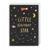 Little Birthday Star - Kort & kuvert - Lagom