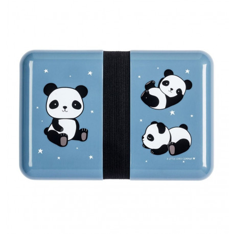 Panda madkasse & stickers - A Little Lovely Company
