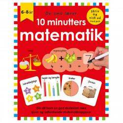 10 minutters matematik - Skriv & visk ud bog - Alvilda