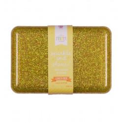Guld Glitter madkasse - A Little Lovely Company
