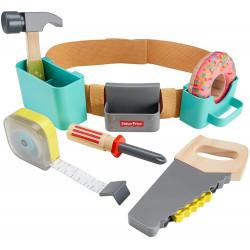 Værktøjsbælte med værktøj - 8 dele - Fisher-Price