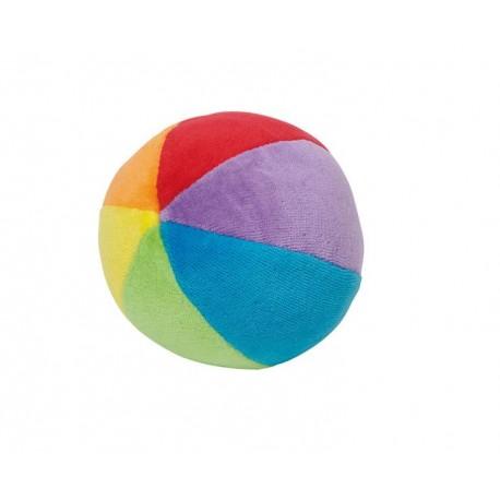 Blød regnbuebold med lyd