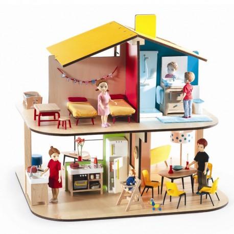 Djeco Petit Home - Dukkehus - Lille