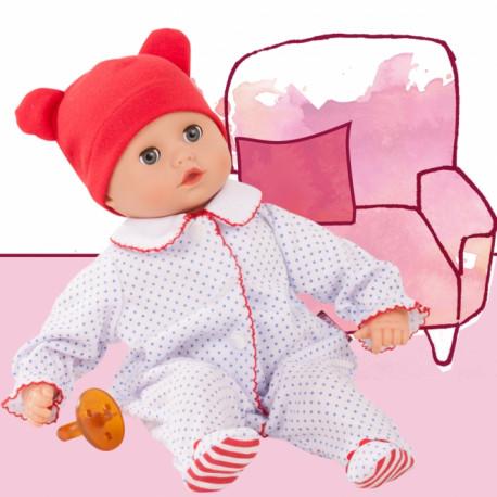 Muffin babydreng i sparkedragt - Dukke - Götz