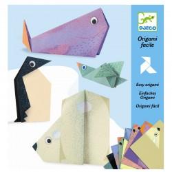 Polardyr - Origami (5-10 år) - Djeco