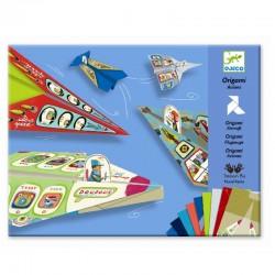 Flyvemaskiner - Origami - Djeco