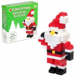 Julemand - 144 byggeklodser med instruktion