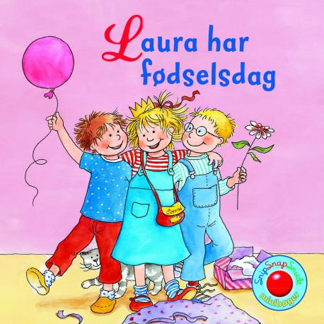 Laura har fødselsdag - Snip Snap Snude bog - Forlaget Bolden