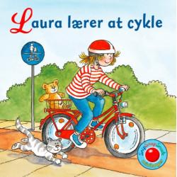 Laura lærer at cykler - Snip Snap Snude bog - Forlaget Bolden