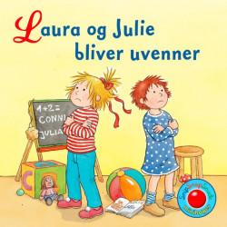 Laura & Julie bliver uvenner - Snip Snap Snude bog - Forlaget Bolden