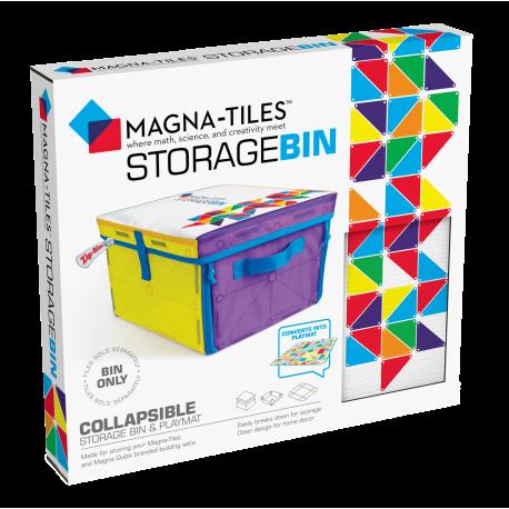 Opbevaringskasse & legetæppe til Magna-Tiles