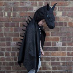 Midnight Dragon Kappe - Mørkeblå med guld - Great Pretenders