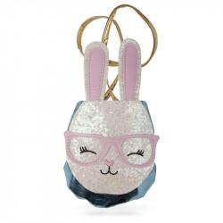 Petit Bunny - Pung med glimmer & bærerem - Great Pretenders