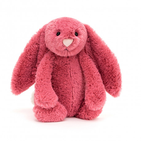 Cerise kanin - Mellem Bashful bamse - Jellycat