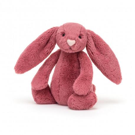 Cerise kanin - Lille Bashful bamse - Jellycat