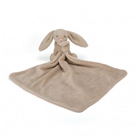 Beige kanin - Bashful nusseklud - Jellycat